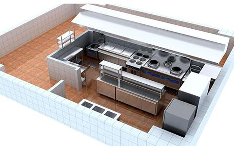 餐饮厨房需要安装哪些消防系统?