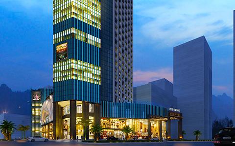东莞上东国际酒店消防工程案例